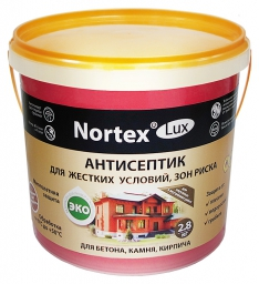 Nortex®-Lux (НОРТЕКС®-ЛЮКС) для бетона 2,8 кг